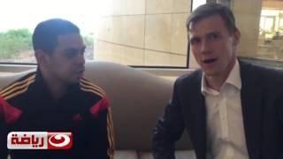 لقاء مفاجئ بين السفير البريطاني وكريم شحاتة في شرم الشيخ 