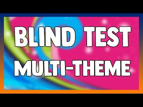 BLIND TEST #1 - Films, série, dessin anime, manga, pub, emission tv