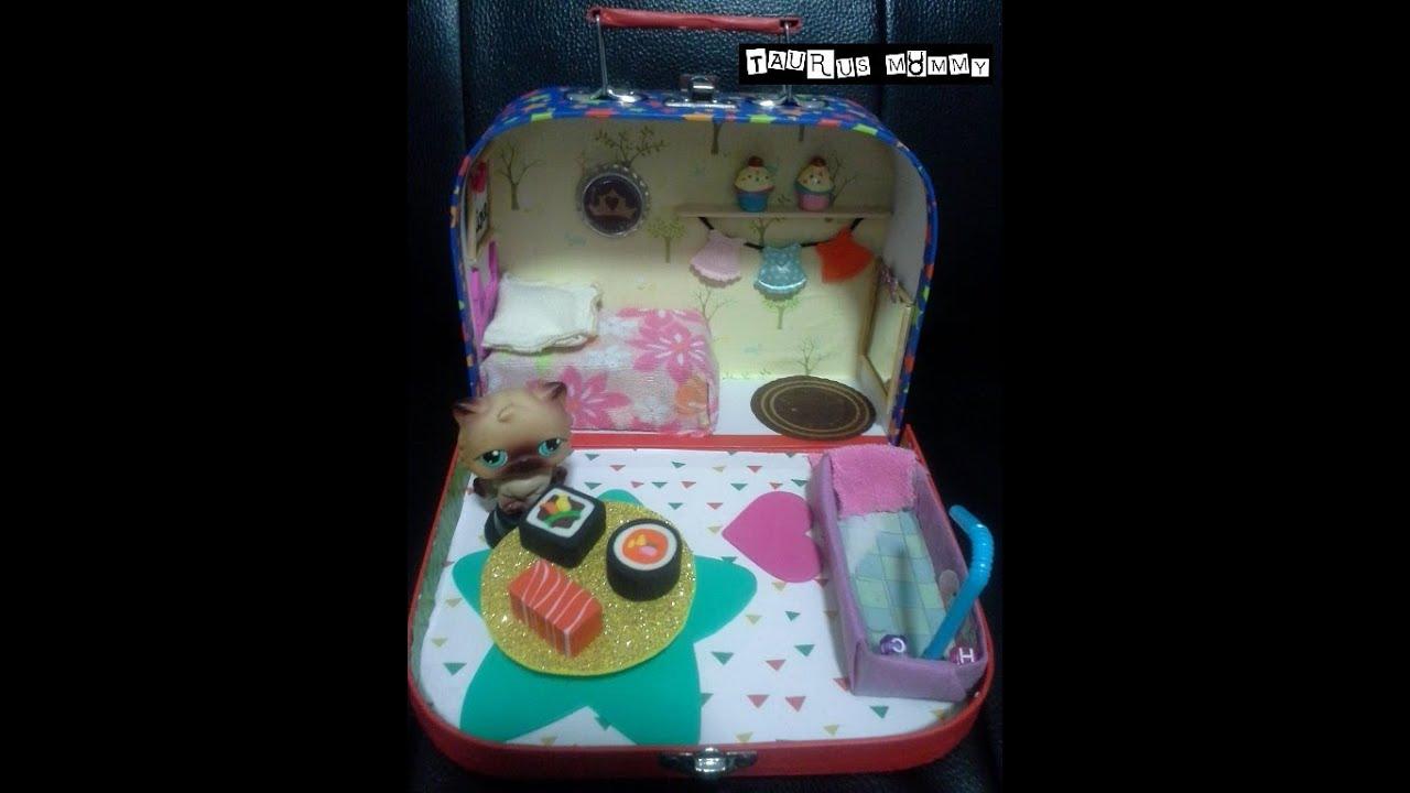 Vintage Littlest Pet Shop DIY Portable Dollhouse Tour