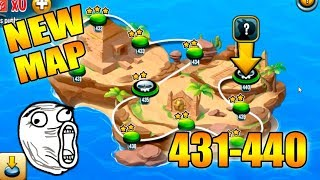 Monster Legends - New Mapa de Aventura - Nivel 431 al 440
