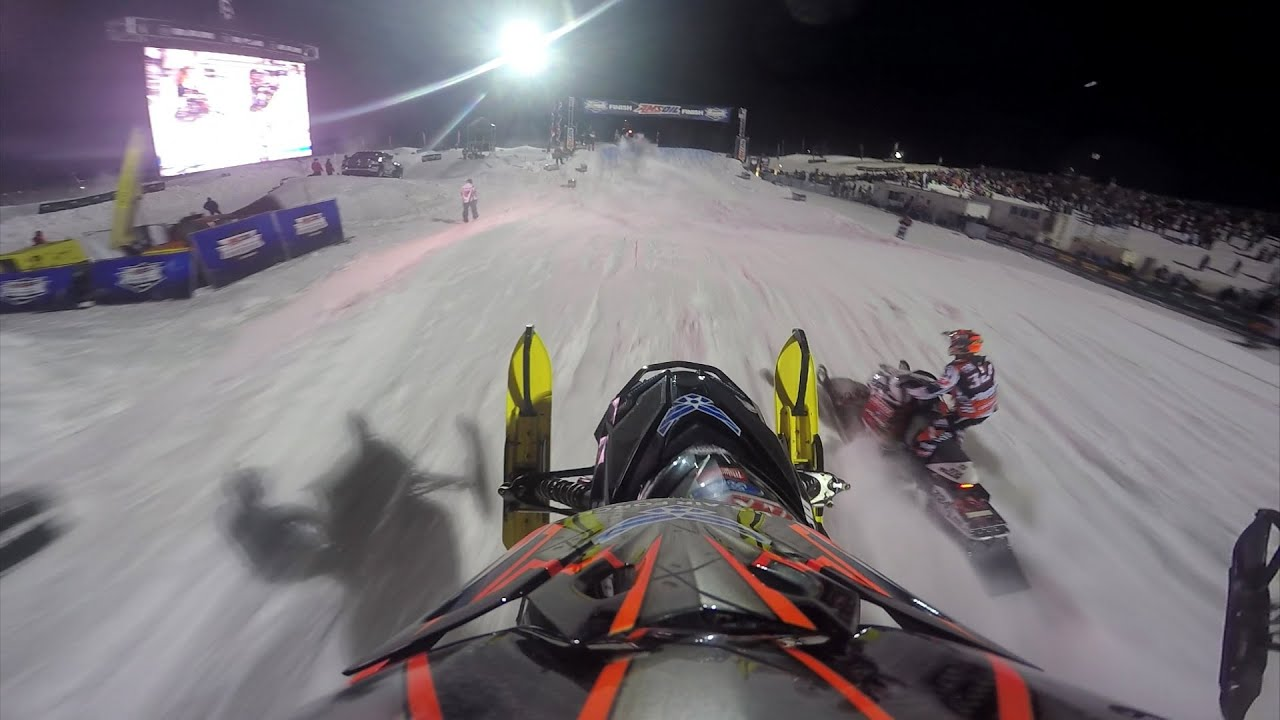 GoPro: Tim Tremblay Final 2015 Amsoil Snocross from Mount Pleasant - Motor Informed