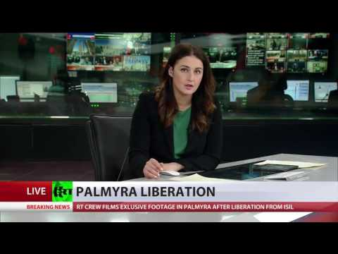 Syrian Arab Army with Russian air assistance  liberate Palmyra from IS