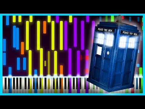 Doctor Who - IMPOSSIBLE REMIX (Piano Tutorial) 13th Doctor Intro