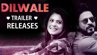Dilwale Official TRAILER Ft. Shahrukh-Kajol, Varun-Kriti RELEASES