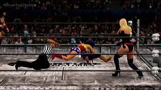 Wonder Woman/Xena vs. Ms. Marvel/Android 18 (c), Divas Tag Championship (Portal II, M4)