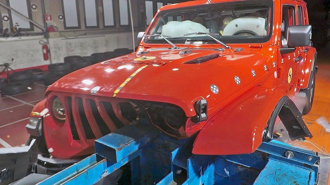 Jeep Wrangler  2019  Really Not Safe     Ud83d Ude31  Crash Test