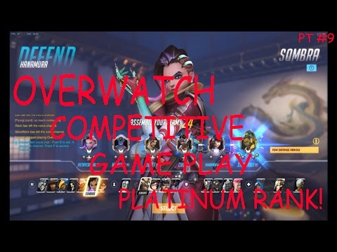Overwatch - Competitive game play - Platinum  rank!