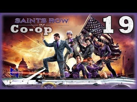 Смотреть прохождение игры [Coop] Saints Row IV. Серия 19 - Оборона убежища. [16+]