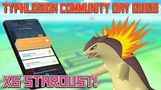 Typhlosion Community Day Guide For Pokemon Go!