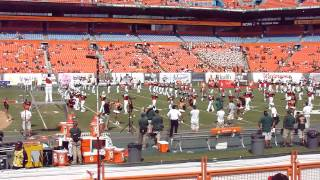 University of Miami marching band   Opening ceremony