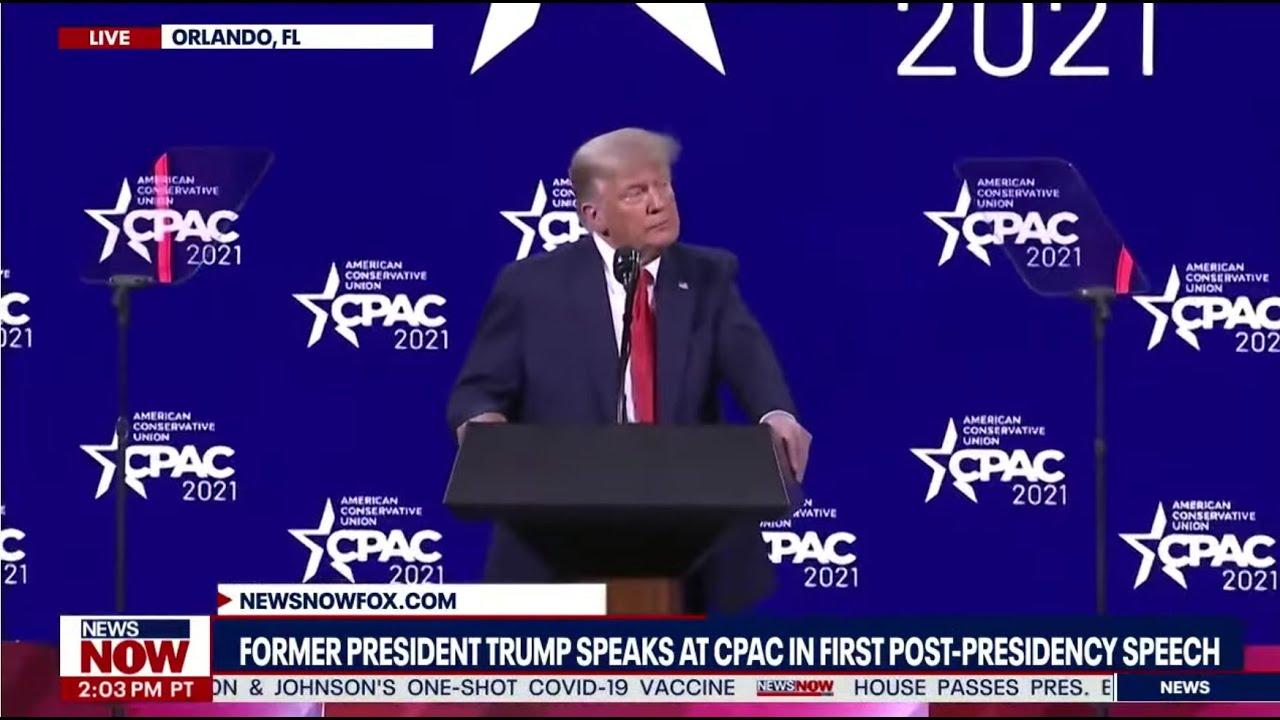Watch Trump Live At CPAC
