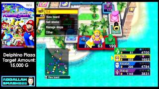 Let's Play Fortune Street for Wii! Delfino Plaza Pro Strategies and Tutorial with Abdallah