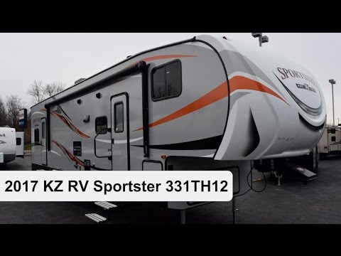 2017 KZ RV Sportster 331TH12 | Fifth Wheel Toy Hauler