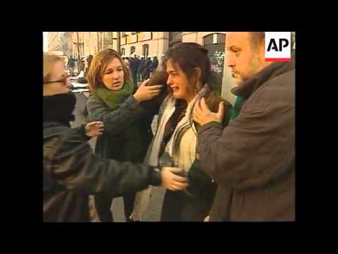 SPAIN: CLASHES AT FRANCO ANNIVERSARY COMMEMORATIONS
