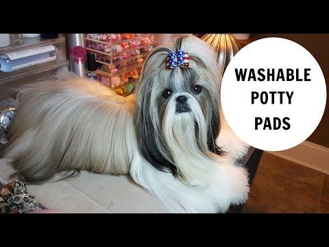 WASHABLE POTTY PADS