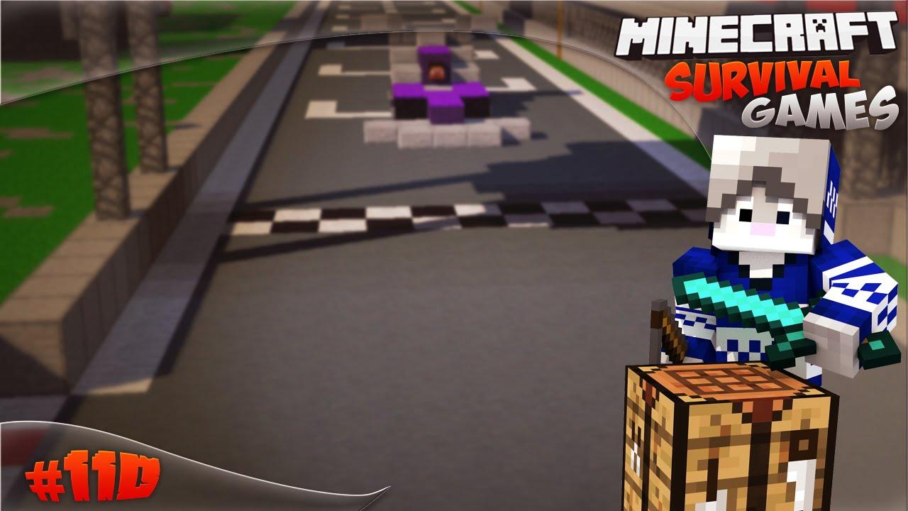 Minecraft 110 Videojuegos: Game 110 - Minecraft Survival Games