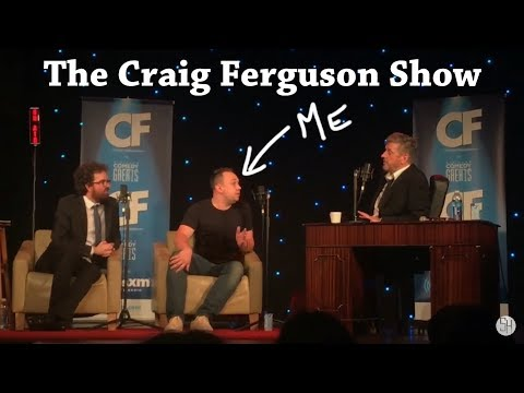 My Interview on The Craig Ferguson Show - Shane Hampsheir TV
