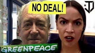 Greenpeace Co-Founder Vs Alexandria Ocasio Cortez