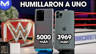 PRUEBA DE BATERIA Galaxy S20 Ultra vs iPhone 11 Pro Max - LO ARRASTRARON!!!!!!!
