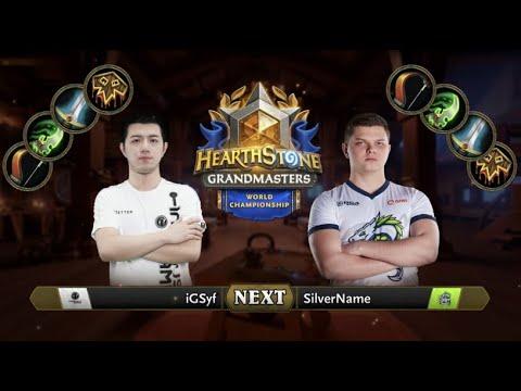 Syf vs Silvername - Hearthstone World - Game 5