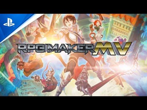 RPG Maker MV - Release Date Trailer | PS4