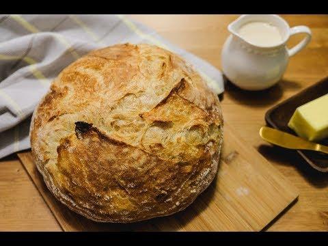 Pão italiano artesanal sem sovar | Padeiro de Apartamento