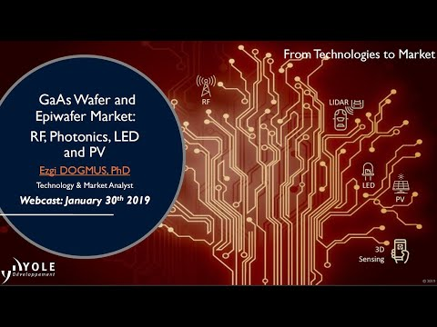GaAs Wafer And Epiwafer Market:  RF, Photonics, LED And PV - Webcast