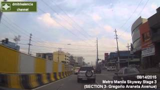 Metro Manila Skyway Stage 3 - update as of August 2015