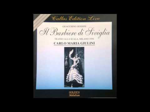 Callas, Gobbi, Alva - Il Barbiere di Siviglia, Live La Scala 1956 FULL OPERA Best CD Sound ACT 1