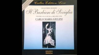 Callas, Gobbi, Alva - Il Barbiere di Siviglia, Live La Scala 1956 FULL OPERA Best CD Sound ACT 1