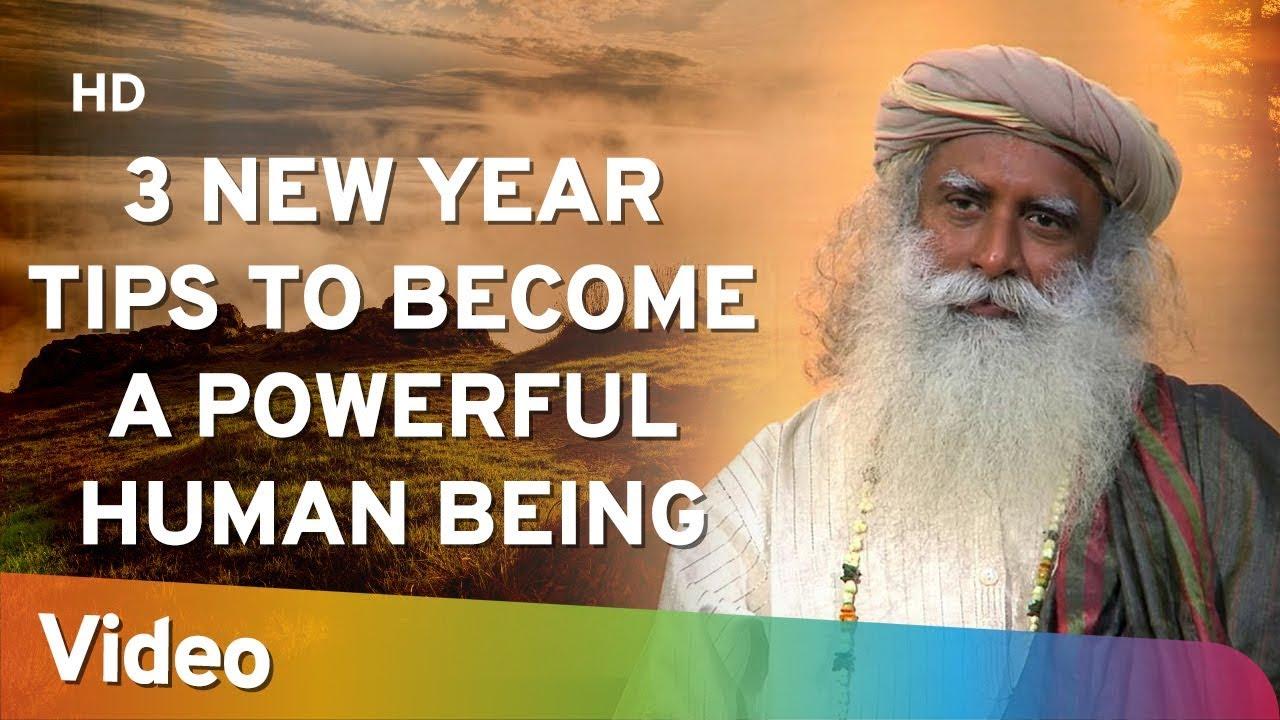 3 New Year Tips to Become a Powerful Human Being - शक्तिशाली इंसान बनने के 3 नए साल के टिप्स