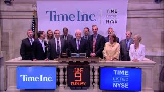Time Inc Rang The Nyse Opening Bell