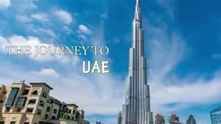 JOURNEY TO UAE || UAE Diary || DISCOVER DUBAI