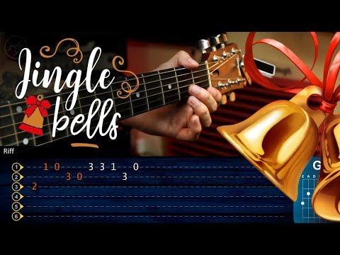 Jingle Bells Guitar Tutorial | Navidad Guitarra TABS Christianvib Villancico