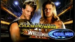 Wrestlemania 26 Matchcard [HD]