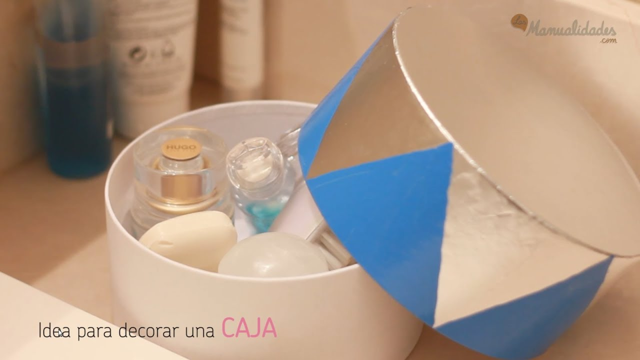 Decorar Cajas Con Servilletas Ideas Para Decorar Cajas - Youtube