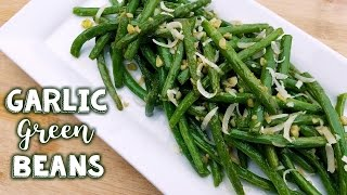 Sautéed Garlic Green Beans | Easy Side Dish - What's For Din'? - Courtney Budzyn - Recipe 90