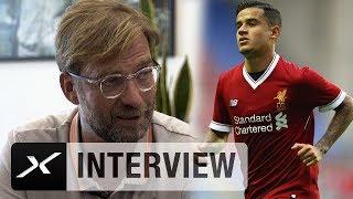 Jürgen Klopp exklusiv über Coutinho & Co. und die Torwart-Frage | FC Liverpool | Premier League
