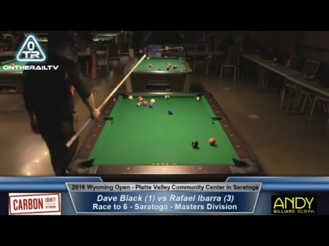 Dave Black vs Rafael Ibarra - 2016 Wyoming Open Saratoga