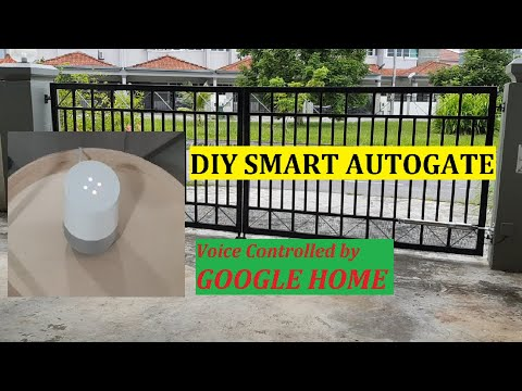 how-to-open-your-garage-door-|-auto-gate-with-google-home-assistant