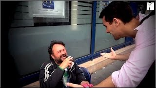 Beautiful Reactions From Homeless Getting Food