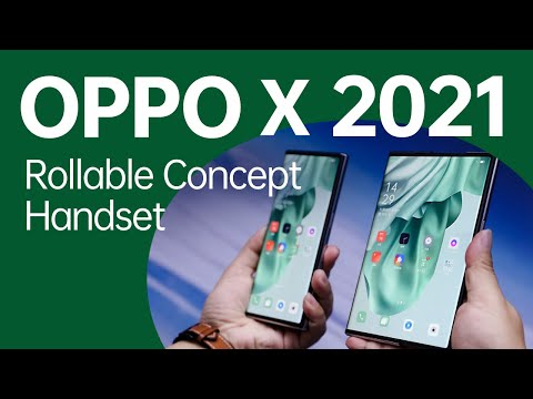 OPPO X 2021 Rollable Concept Handset   OPPO INNO DAY 2020
