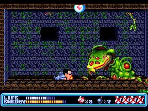 Sega Genesis Ghostbusters In 23 35 Tas Youtube