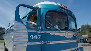 1941 silverside greyhound bus