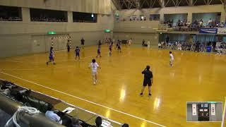 2019年IH ハンドボール 女子 準々決勝 大分(大分)VS 水海道第二(茨城)
