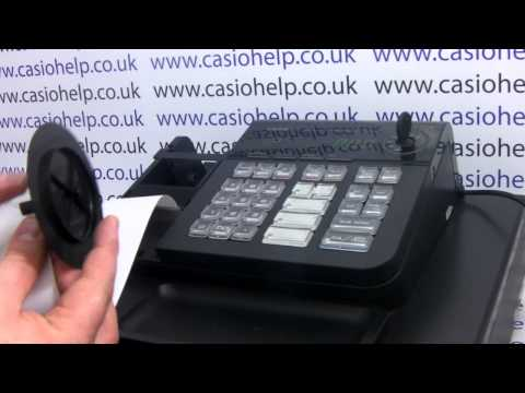How to enable journal roll printing on the Casio SE-S10 / PCR-T280 Cash Registers