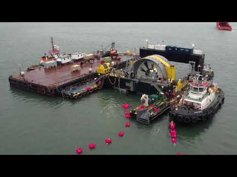 Tour of the Fundy Ocean Research Centre for Energy (FORCE)