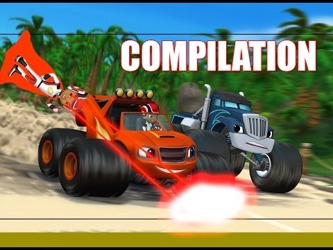 Blaze and the monster machines - Full episodes COMPILATION (2017) Full episodes movie