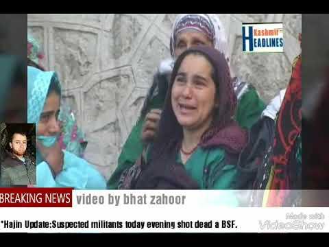*Hajin Update:Suspected militants today evening shot dead a BSF.