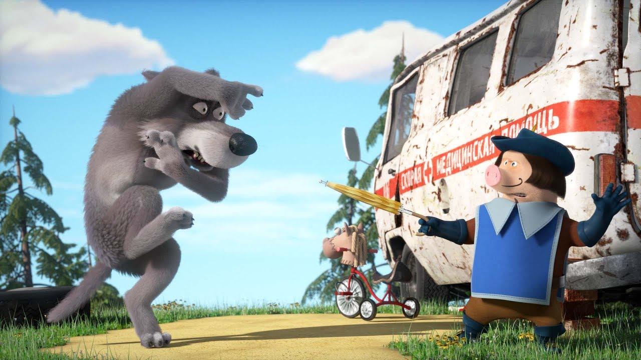 Маша и Медведь -  Три Машкетёра ⚔️  (Свинка мушкетёр)🐽